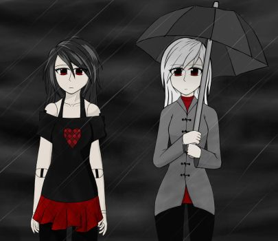 Waiting In The Rain by ScaryReptile