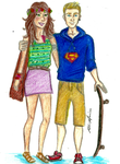 Jason and Piper by brenda--amancio