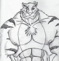 Tiger trade by muscle-milk
