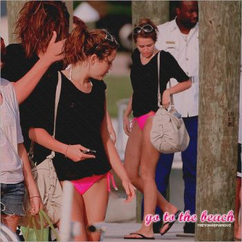 Miley Go to the beach Blend by CuteMRC