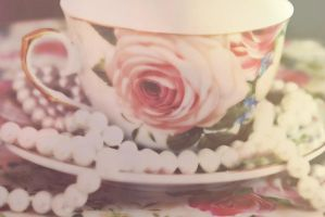 rose cup by claucz