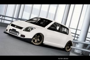 Suzuki Swift by MatonUS