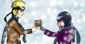 NaruHina Snowy gifts by LadyCyco