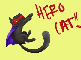 HERO CAT by FawkesFyre