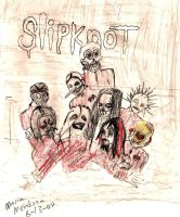 slipknot by skullspikes