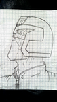 Judge Dredd: Portrait by CrimsonFatMan
