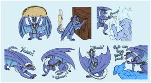 Tealate Pack 6 by Bluehasia