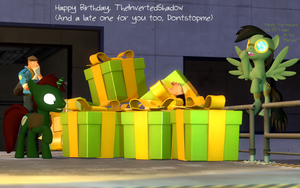 A birthday card for 2 fine gentlemen by Miel1994