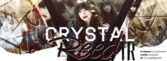 Crystal Reed Facebook Banner by tributesena