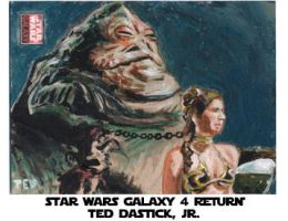Star Wars Galaxy 4- Jabba Leia by tdastick