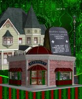 Victorian Streets by oldhippieart