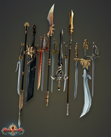 Blade Lords - Weapons 2 by PLyczkowski