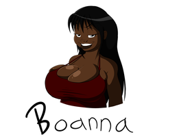 Boanna Bust Commish by BlackSen