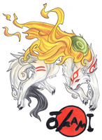 Amaterasu by emmily-xo