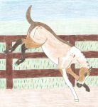 Kick it All Off Foal Show Entry by Seri-goyle