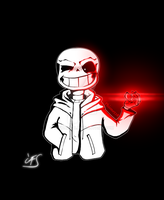 Undertale - Bad Time Sans by Phione538