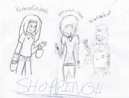 ::COLLAB:: Shopping by Otaku-Mookers