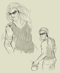 Master Miller doodles by mollyamorous