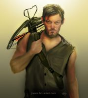 Daryl Dixon by jiasen