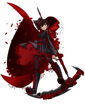 Rwby Red by bleedman
