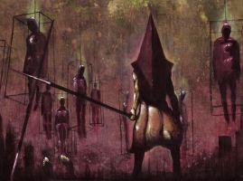 -Pyramid Head III- by DeadCamper