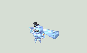 Frosty the Buff Gentlemanne by ShwigityShwonShwei