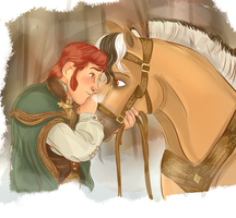 Hans and Sitron by hansideburns