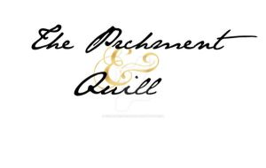 Parchment and Quill Logo 1 by XenatheConqueror
