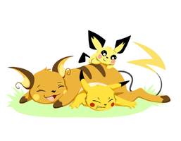 Attack of the Chu's! by Clawshawt