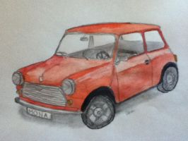 little red Mini by Nina2258