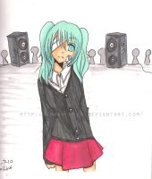 Vocaloid - Rolling Girl by Amrow-chan