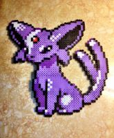 Espeon - Fuse Beads by chocovanillite