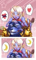 Soraka and warwick by chanseven