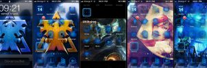 Starcraft Terran Theme iPhone by tsxworld