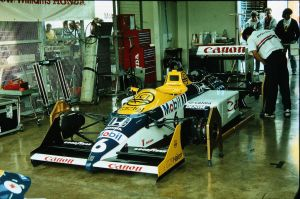 Williams FW11B (Great Britain 1987) by F1-history