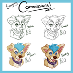 Emergency Headshot Commissions! by SparksFur