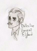 Detective Vincent Elford -The Deserters- by Woodpeckery