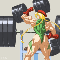 Training Cammy by RENtb