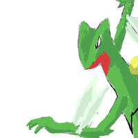 Sceptile by coolsarahkry