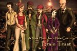 Brain Trust cover art by SilverGryphon8