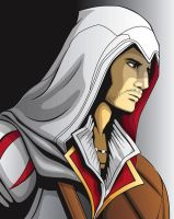 Ezio Auditore by Fandias