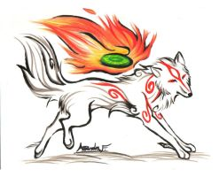 .:Fiery Dance:. FOR SALE by FallenAngelWolf13