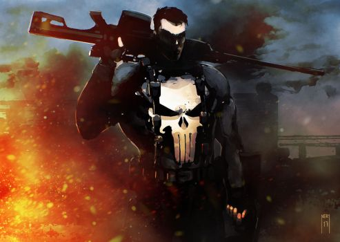 The Punisher by NeryLucio