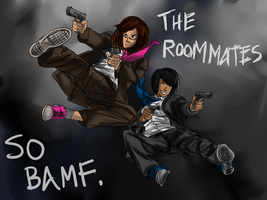 THE ROOMMATES. by tobisempai