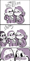 what are you trying to hide burr? - comic by spvcepup