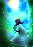Snow monster by 1weirdsoul1