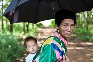 Laos Village Life VII by emrerende