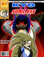 Front cover Comic Kyo vs Sonic by DiscoSaeba
