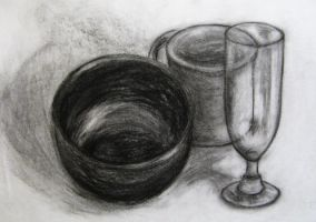 Charcoal Dishes by CameronCN