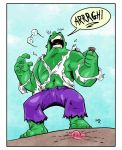 Hulk Drop Icecream! by sketchheavy